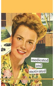 Anne Taintor Mini Notes - Medicated