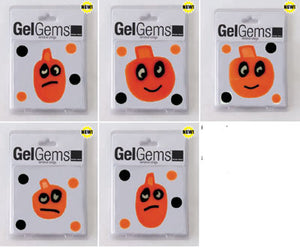 Pumpkin Head GelGems Flex-Kit!