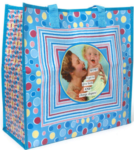 "Anne Taintor Shopper ""change diapers"""