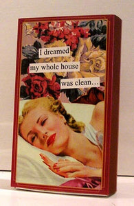"Boxed Matches, ""Dreamed"",  Anne Taintor"