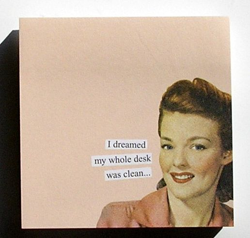 Anne Taintor Sticky Notes, dreamed