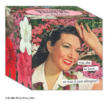 Anne Taintor Boxed Tissues, was she in love... or was it just allergies?