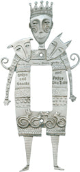 """Snips and Snails"" switchplate cover (#90)"
