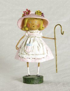 """Little Bo Peep"" by Lori Mitchell"