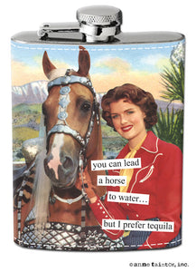 "Anne Taintor Flask ""tequila"""