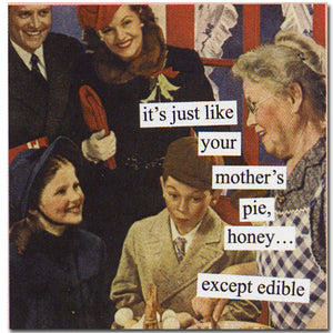 Anne Taintor napkins 'Edible'