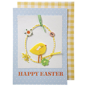 """Happy Easter"" Greeting Card by Meri Meri...a cute little chick"