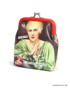 "Anne Taintor Coin Purse ""I've got it all..."""