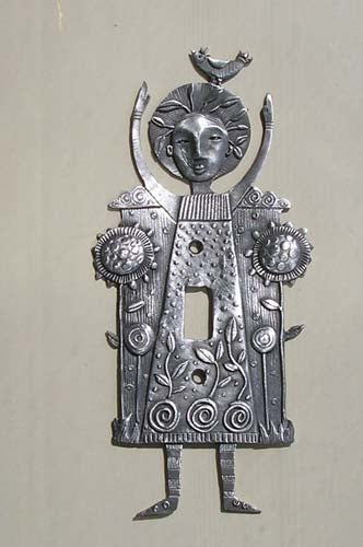 Mary Quite Contrary, switchplate cover (#98)