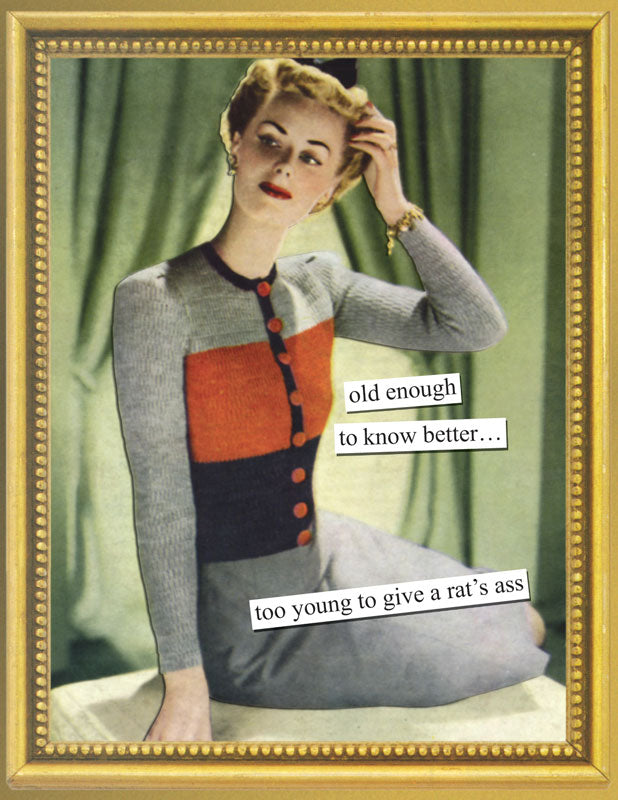 Anne Taintor Birthday card