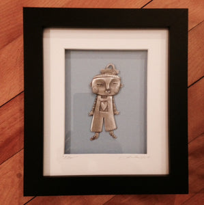 "Framed ""Edsel"" by Leandra Drumm"