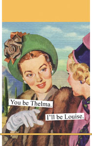 Anne Taintor Mini Notes - Thelma