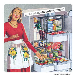 "Anne Taintor Magnet, ""Chinese"""