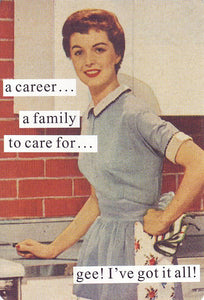 """a career..."" ~card"
