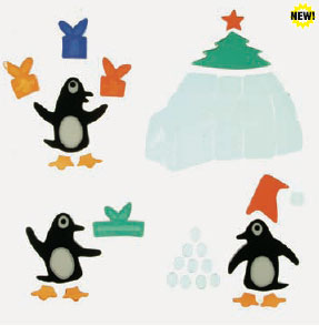 Large bag of Penguins and Presents