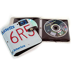 License Plate CD Case