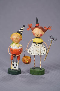 """All Hallows Party Boy"" & ""Flirty Gertie"" by Lori Mitchell"