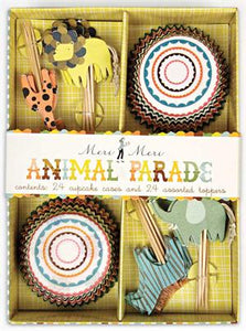 Animal Parade Cupcake Kit!