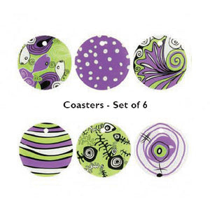 Orna Lalo Coaster Set of 6 (Ocean)