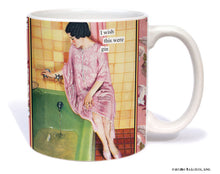 "Anne Taintor Mug  ""I wish this were gin"""