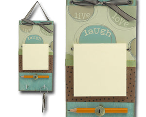 Post-It Note Holder - live laugh love
