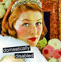 Anne Taintor napkins, Disabled
