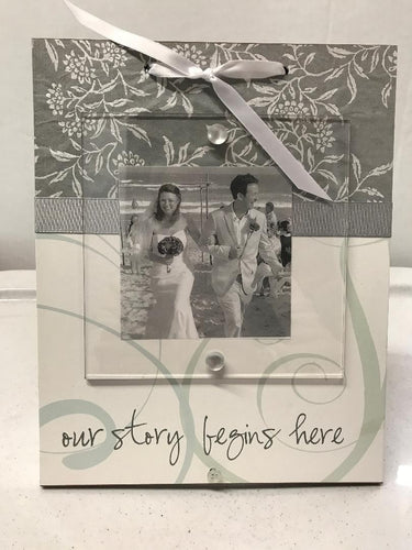 Wedding Frame-Our Story Begins Here