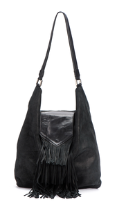HOBO BAG -LARGE LEATHER SHOULDER BAG