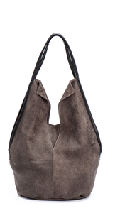 Brown Leather Tote Bag/Casual Shoulder Bag
