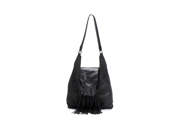 Hobo Bag -Large leather Shoulder  Bag - Avi Algrisi