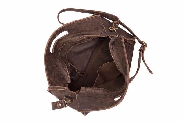 Brown Tote Bag - Avi Algrisi