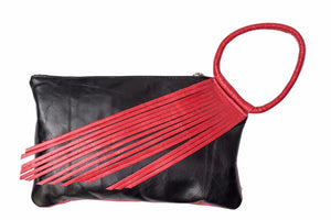 Clutch / Black wristlet  Purse - Avi Algrisi