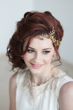 Bridal Headpiece Floral Tiara Flower Hair Vine Tiara