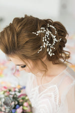 Wedding Hair Pins with Pearls PAIR