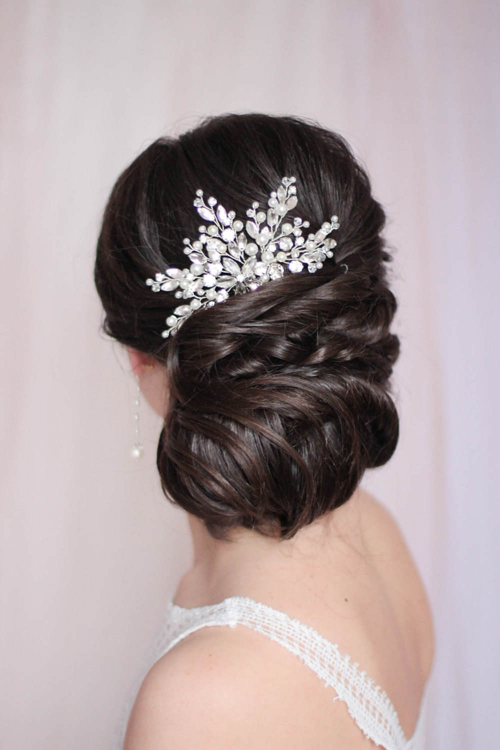 Bridal Headpiece Crystal Hair Comb