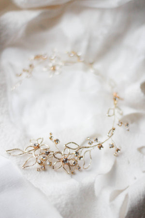 Bridal Headdress Bridal Hair Vine Headpiece