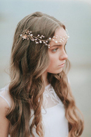 Bridal Headpiece Floral Hair Vine