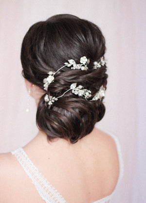 Wedding Hair Vine Extra Large Long Hair Vine Wraparound