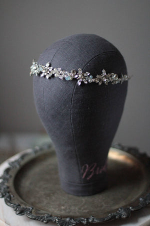 Wedding Headband and Earrings Set