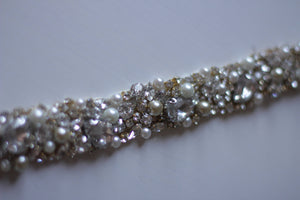 Rhinestone Bridal Sash Wedding Bridal Dress Belt