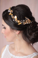Bridal Headpiece Matching Earrings