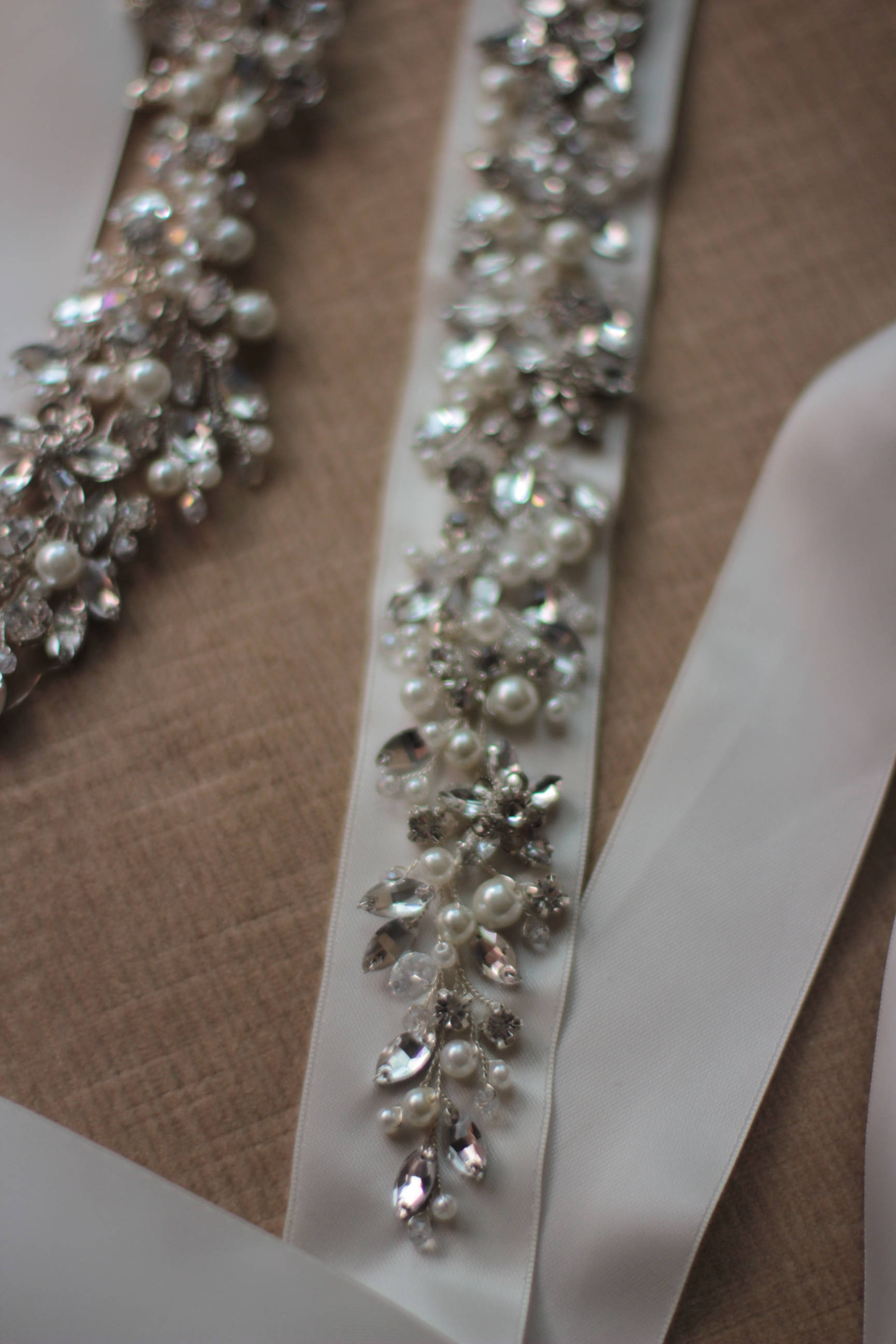 Crystal Bridal Sash Wedding Bridal Dress Belt