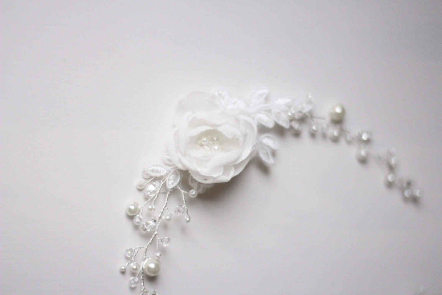 Bridal Wreath Wedding Hair Vine