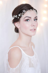 Bridal Hair Halo