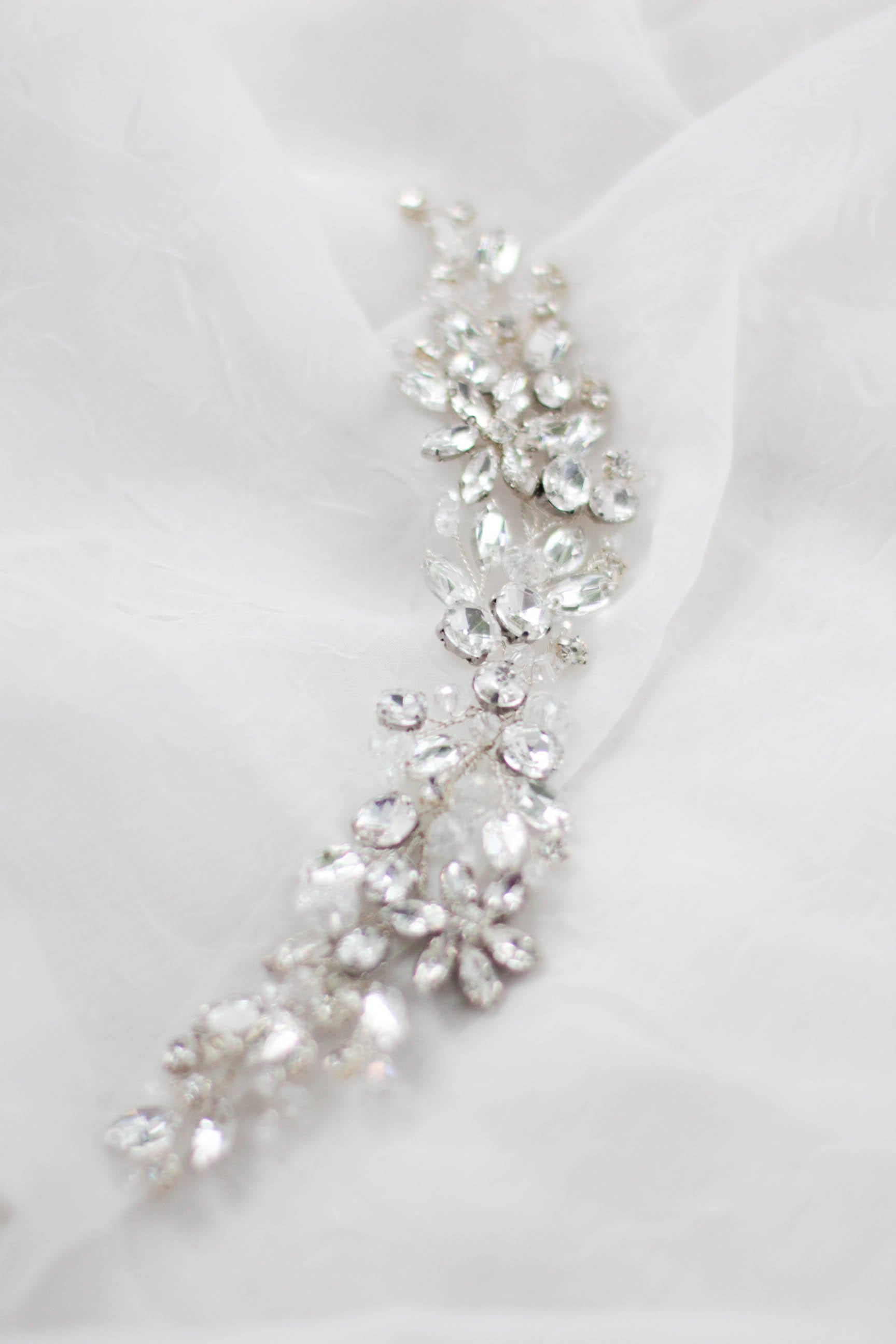 Rhinestone Hair Piece