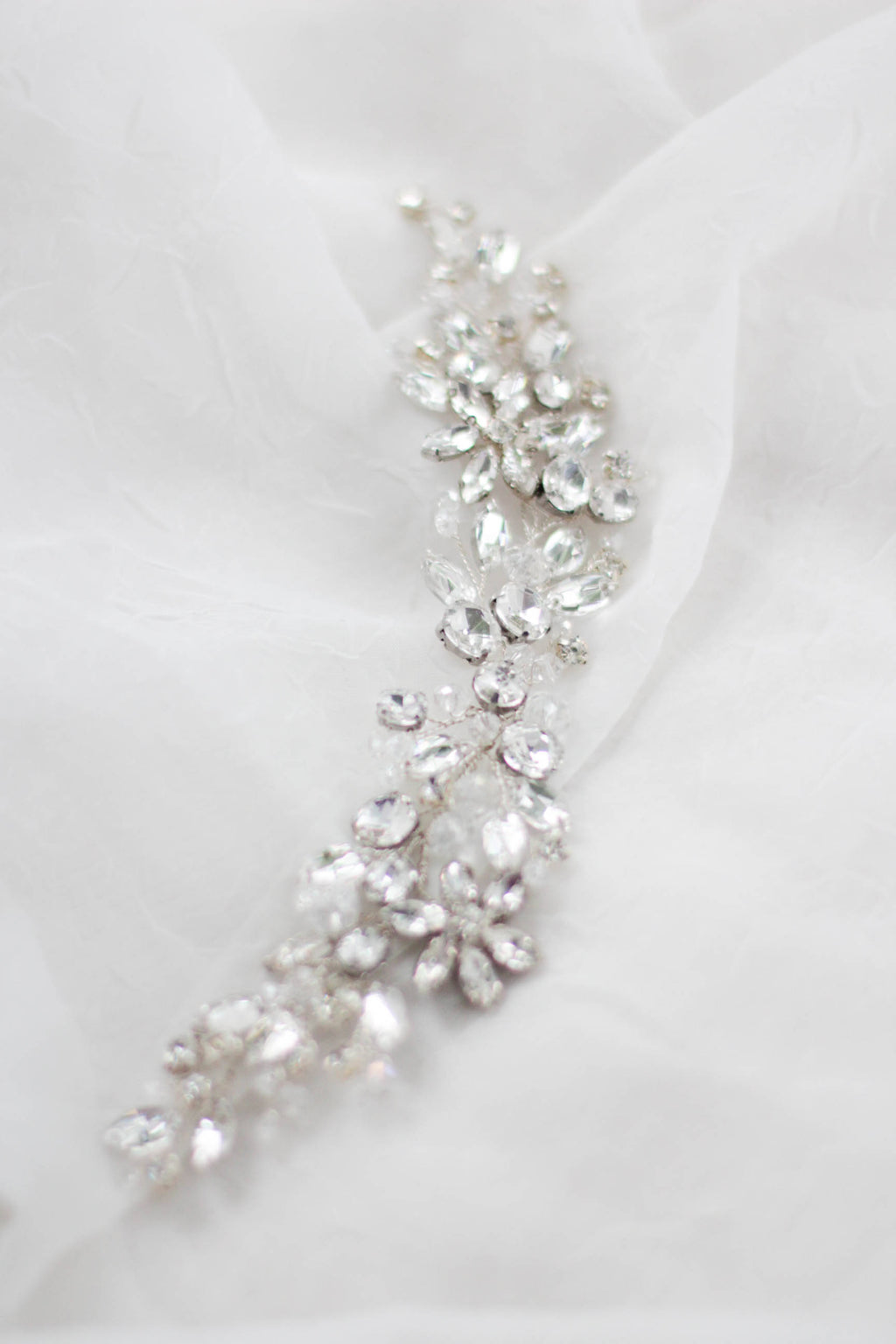 Bridal Crystal Headdress Crystal Decorated Bridal Hair Piece