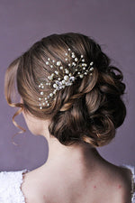 Leaf Hair Comb Botanical Hair Comb Wedding Hair Comb