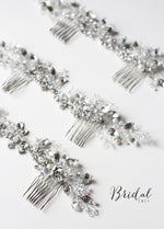 Swarovski Crystal Hair Comb Wedding Hair Comb with Crystals