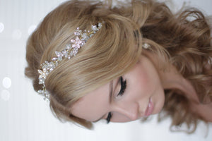 Bridal Tiara Bridal Hair Accessory Over Top