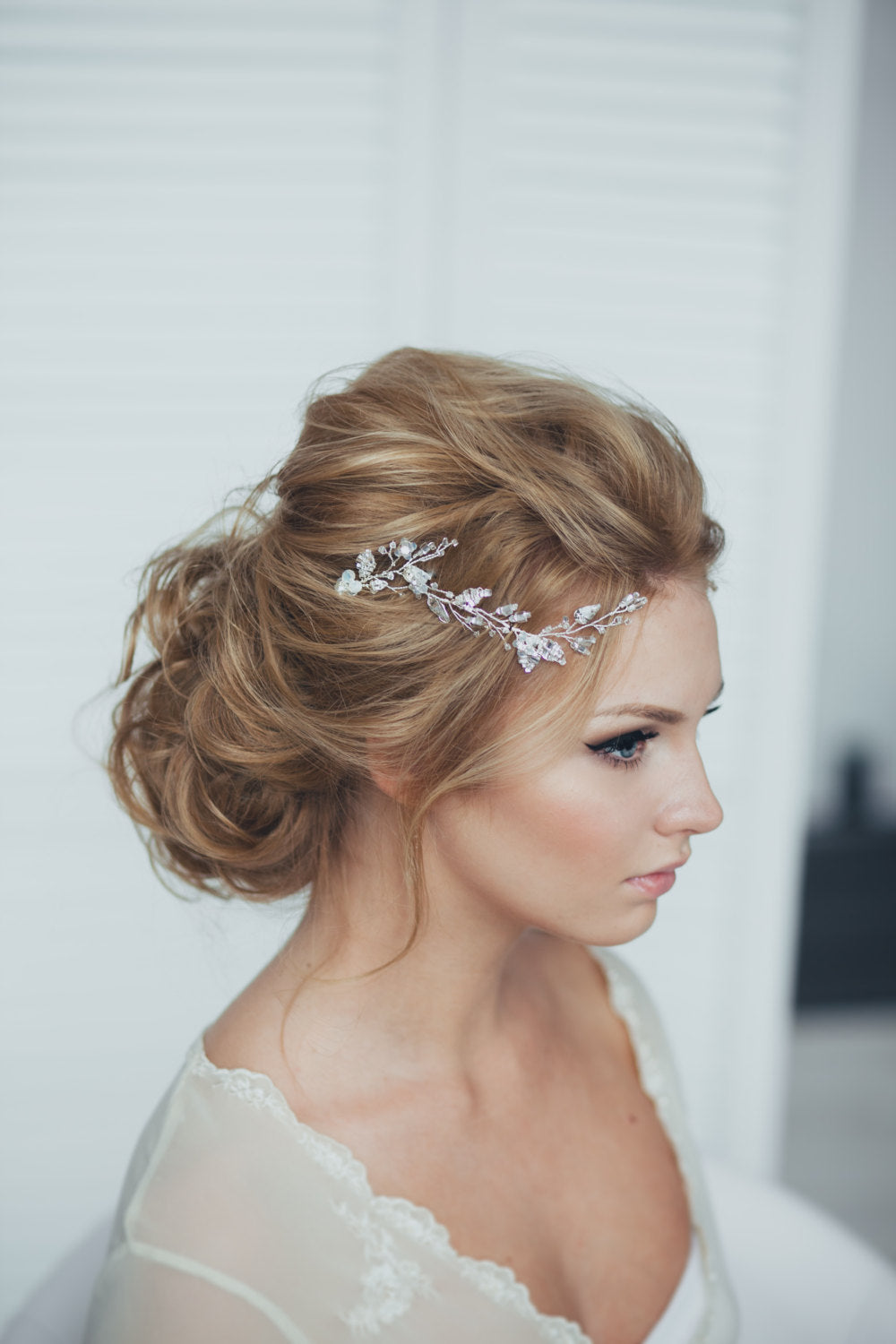 Bridal Hair Pin Baby Glass One Pin